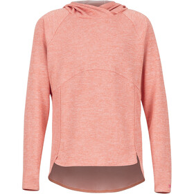 Marmot Sunrift Hoody Jenter flamingo